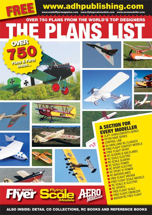 FREE Plans List Catalogue! | Aeromodeller